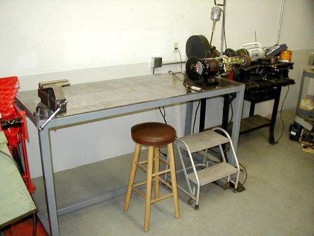 steel work bench plans