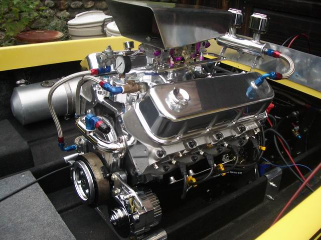 Here Is The 461 Cubic Inch Big Block Chevy Finally Locked Down In Its Place Scoop Was Again An Ebay Item It Cracked Two Pieces And 20 Bucks: Jet Boat Engine Wiring At Gundyle.co